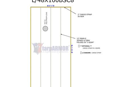48' X 100' 8oz Basic ADC