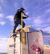 safeMOUNT Ladder Assist - Yellow