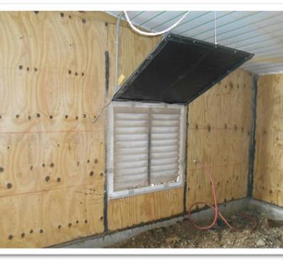 Fan Door Panel