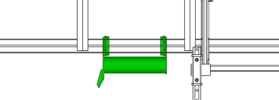 Bumper Assembly with Guide Left