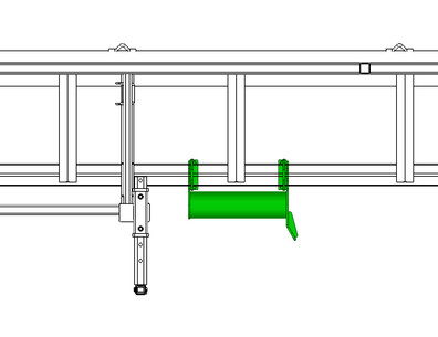 Bumper Assembly with Guide Right