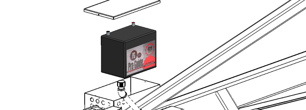 Large Battery with Electrical Options