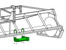 Bumper Assembly with Guide, Right Hand