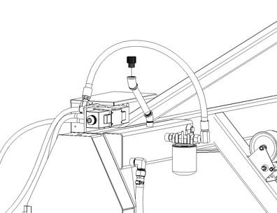 Filler/Breather Cap for Hydraulic Fluid Reservoir