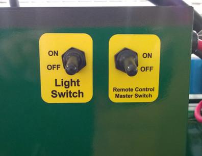 LED Lamp Control Switch