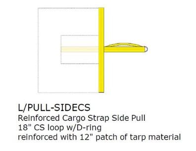 Option:  REINFORCED SIDE PULL, CARGO, EACH