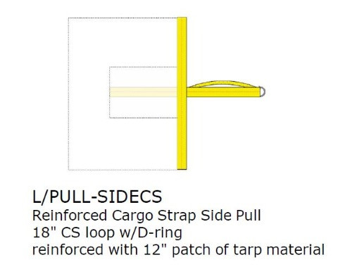 Option:  REINFORCED SIDE PULL, CARGO, EACH