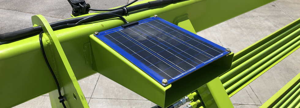Solar-Powered Battery Maintainer