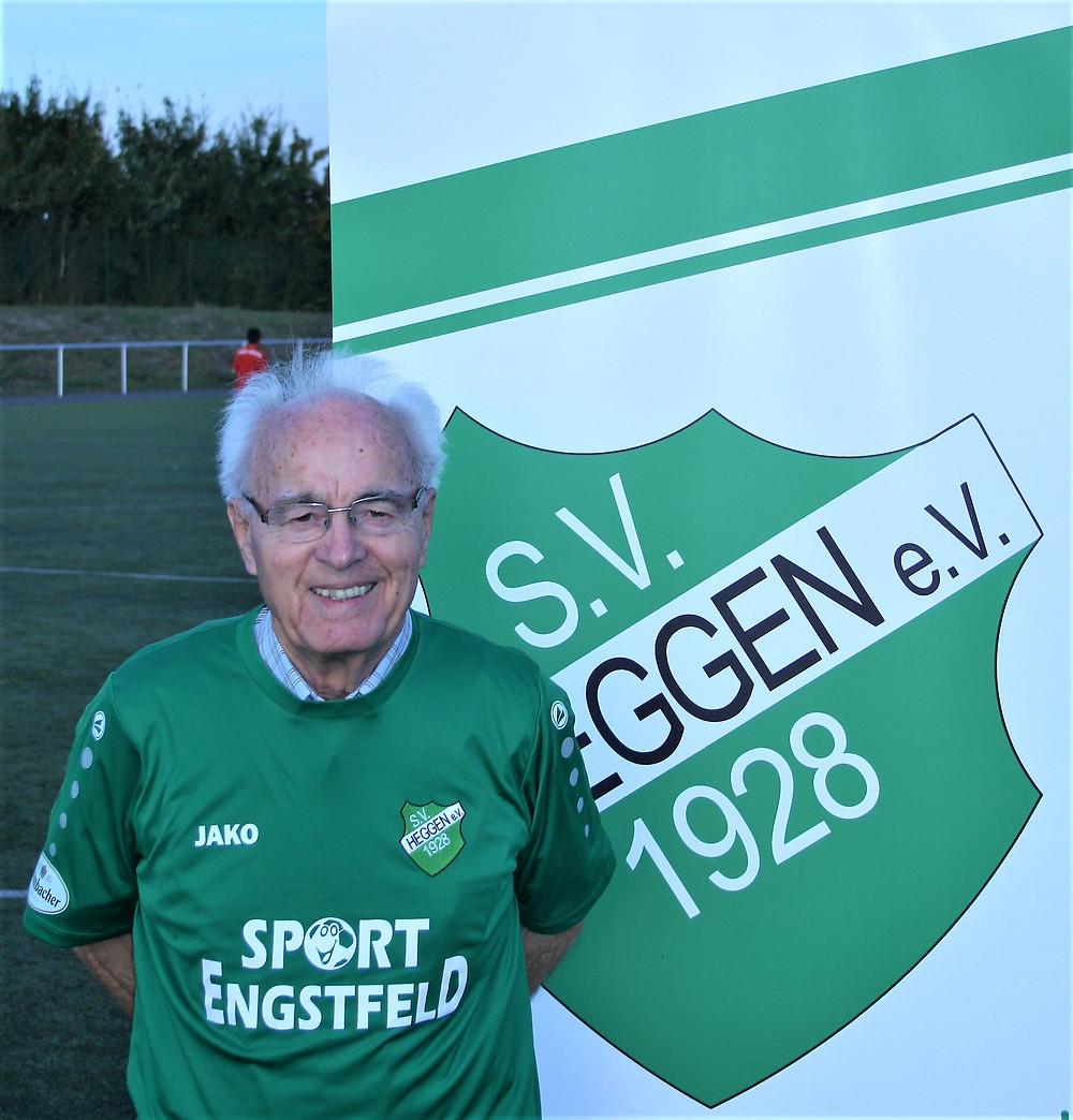 Der Meistertrainer von 1960 Hubert Kümhof (Aufnahme aus 2018)