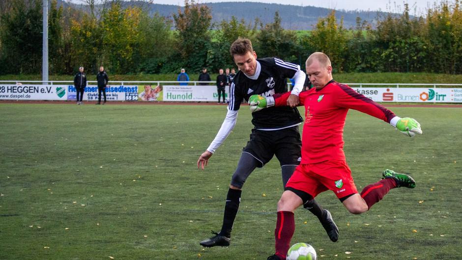 Heggen siegt nach starker erster Halbzeit mit 3:0 gegen das Schlusslicht aus Helden