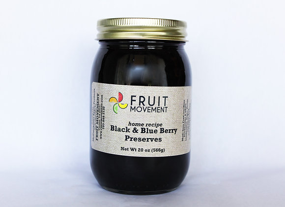 Black & Blue Berry Preserves