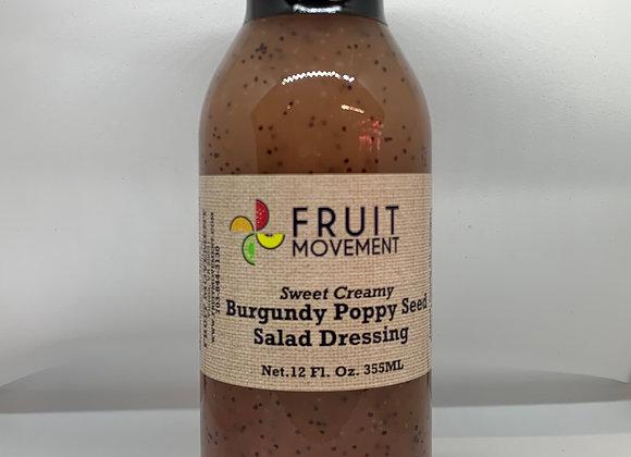 Burgundy Poppy Seed Dressing