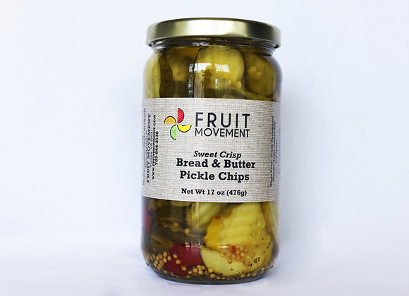 Bread & Butter Pickle Chips