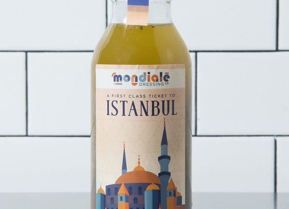 Istanbul: Lemon, Tahini & Herb Vinaigrette