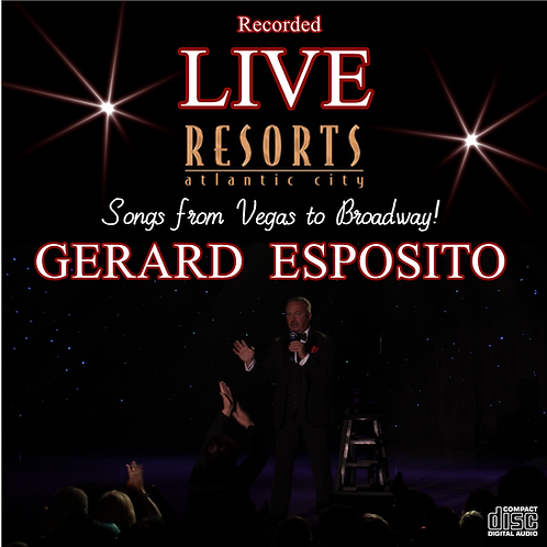 GERARD ESPOSITO Live at Resorts CD