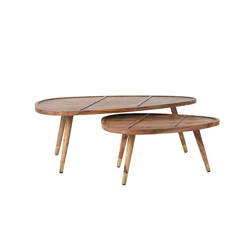 SHAM Set of 2 Side Table