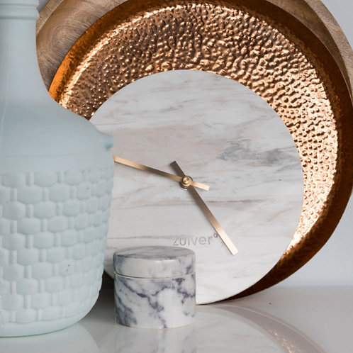 Marble Time Wall Clock