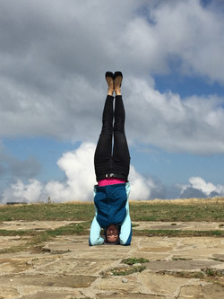 Headstand to heaven