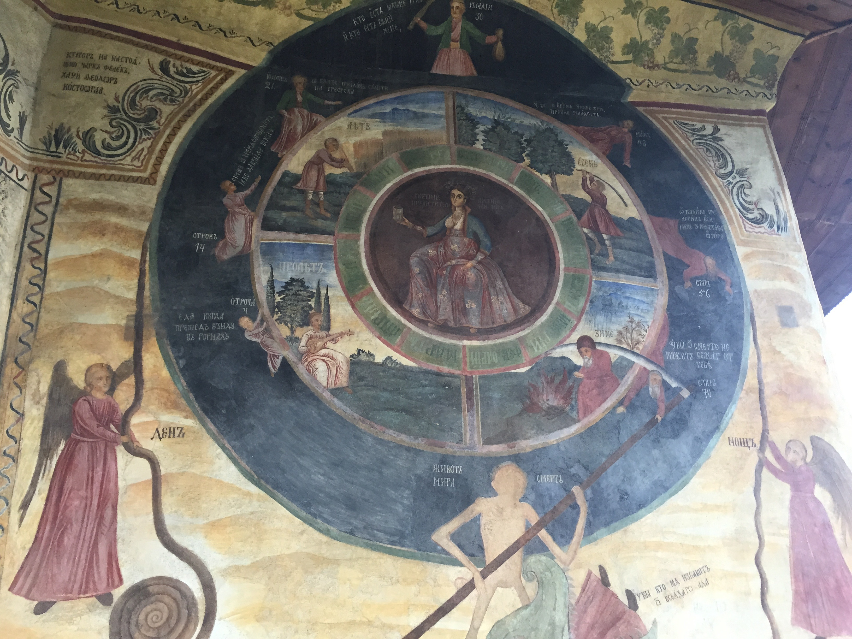 Medieval Bulgarian monastery