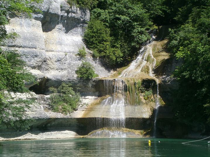 Cascade de la Piétèle, Vouglans