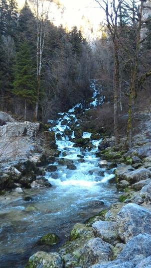 cascade de la Frasnée
