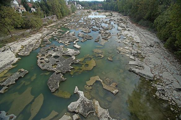 Les marmites Pont de Poitte Vouglans