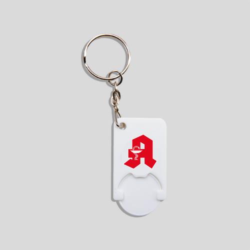 Einkaufschip mit Schlüsselanhänger