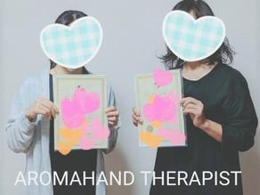 アロマハンドセラピスト開講しました。