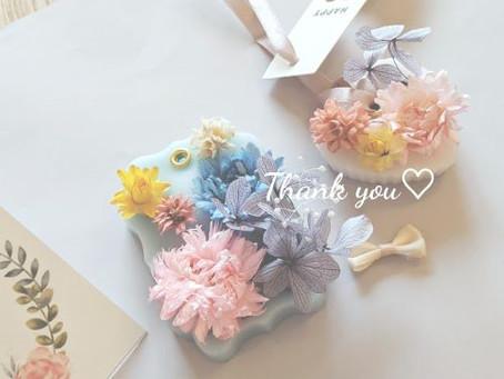 ☆ アロマサシェ作り☆ありがとうございました。