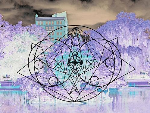 Divine Chaos 2 Print