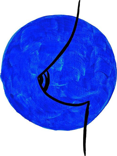 3/3 (Blue) Print