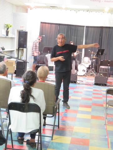 Open rehearsal with Tomson in Saskatoon