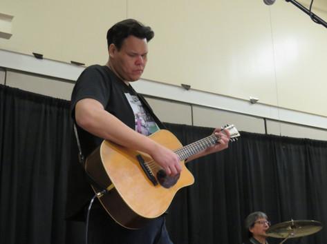 Lance during the Saskatchewan tour