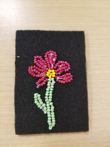Student beadwork from the University of Waterloo