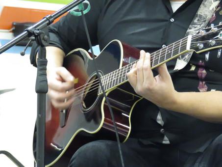 Lance's guitar skills