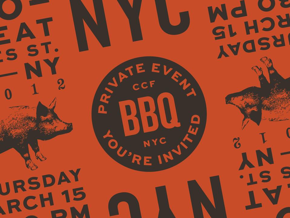 CCF NYC BBQ