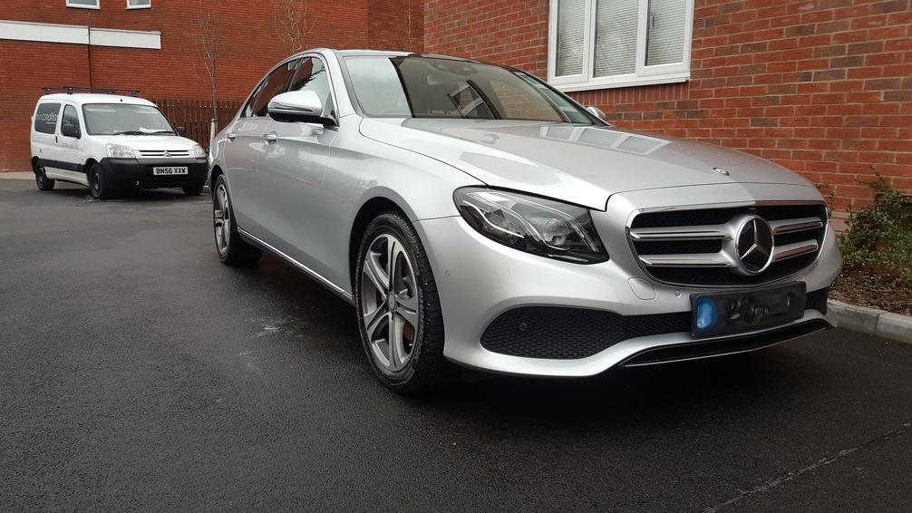 Mercedes E250, mint condition valet