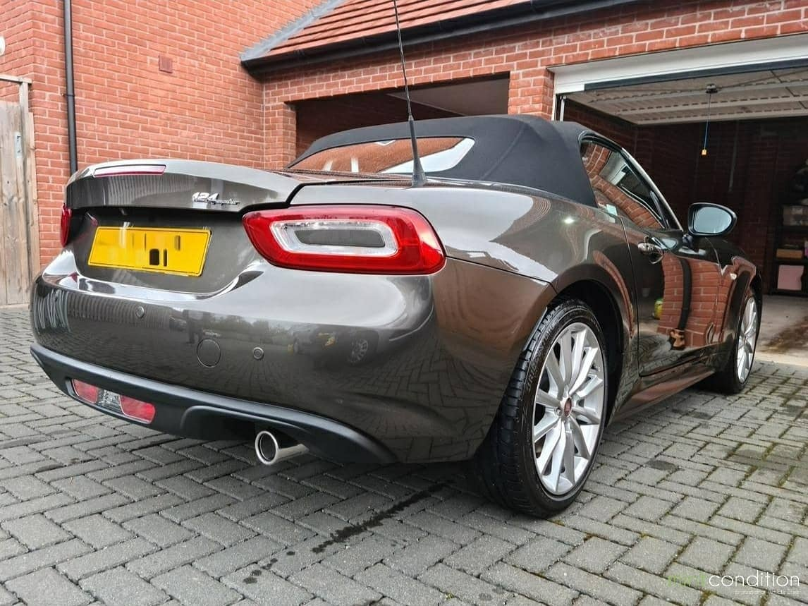 fiat 124 spider mint condition