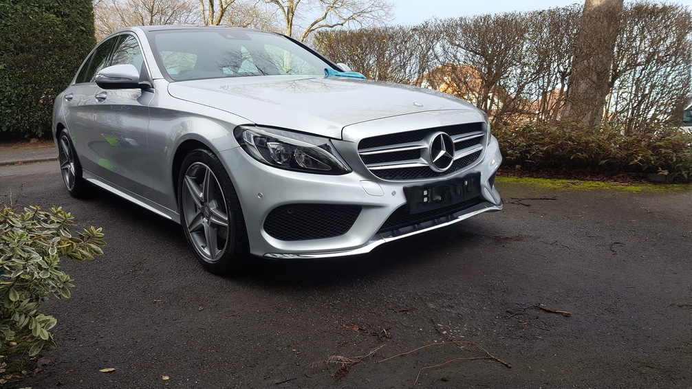 Mercedes C200, mint condition professional vehicle care, Car valeting Birmingham, Mobile valeting Bi