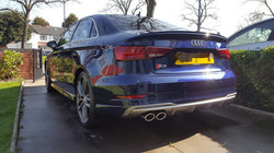Audi S3 after