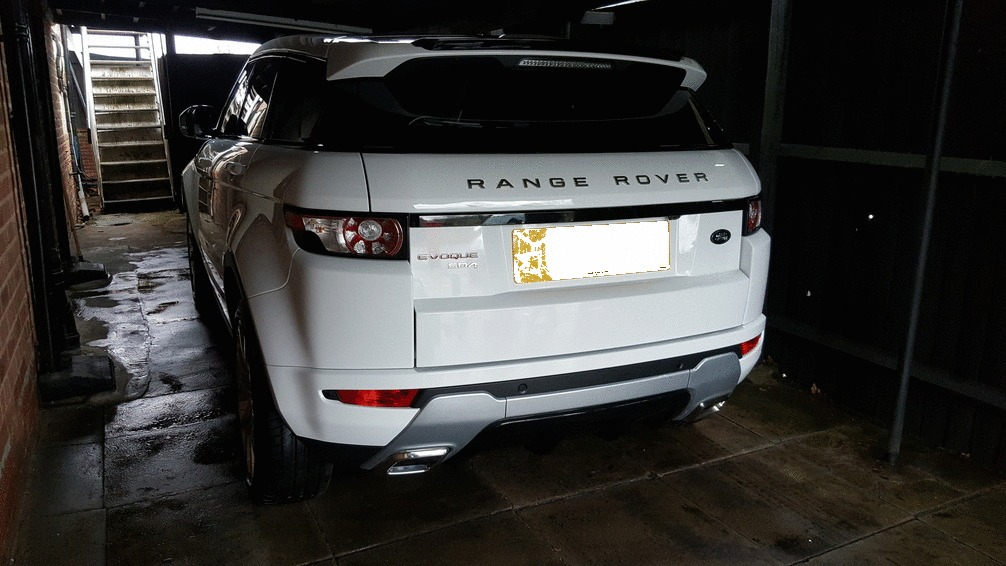 Range rover evoque after1