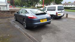 Porsche Panamera Car valeting, mobile valeting, mobile car valeting, mobile car valeting Birmingham
