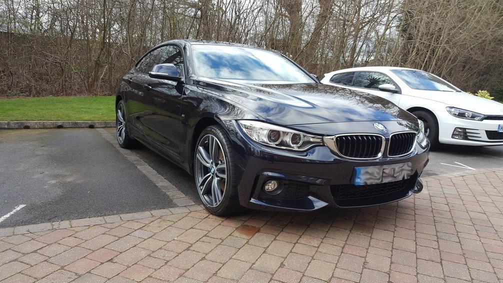 BMW 4 Series Gran Coupe, Car valet