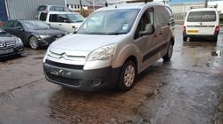 Citroen Berlingo Van, mint condition, car valeting Birmingham