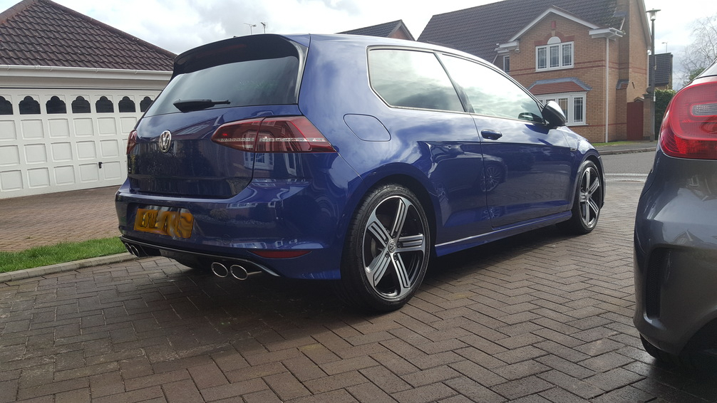 VW Golf R, Car valeting Birmingham,