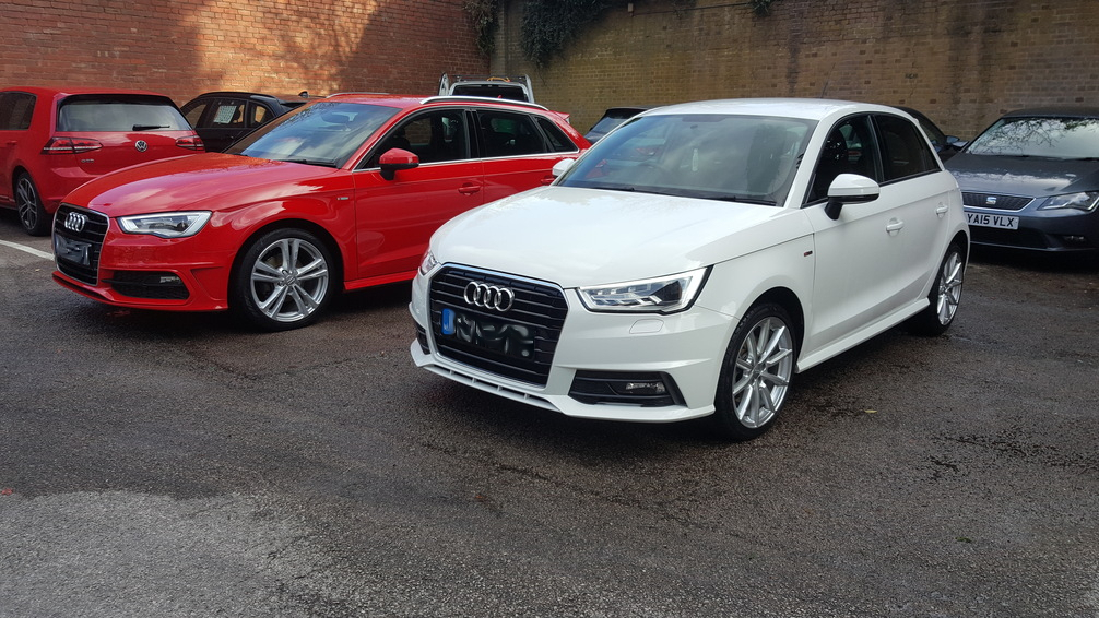 Audi A1 & AudiA3, mint condition car valeting