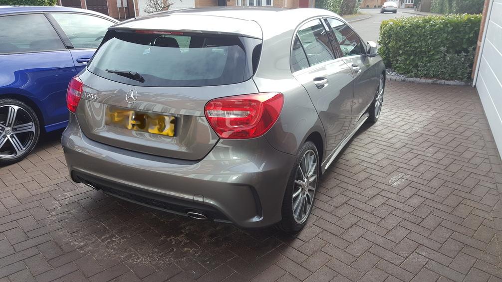 Mercedes A class, Birmingham valet