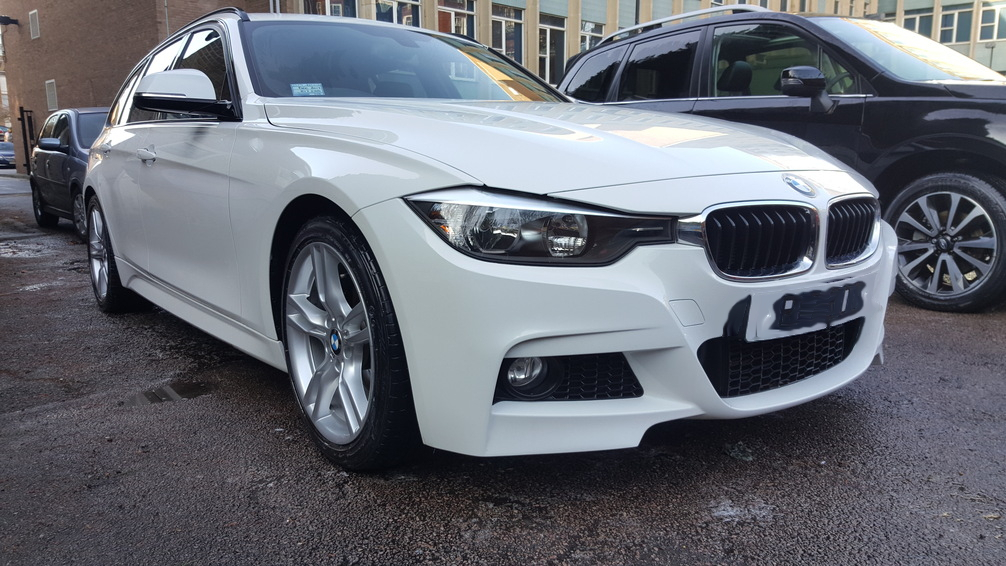 BMW 3 series, mint condition professional vehicle care, car valeting Birmingham