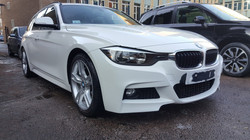 BMW 3 series, mint condition professional vehicle care, car valeting Birmingham