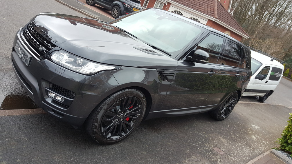 Range Rover Sport, car valeting